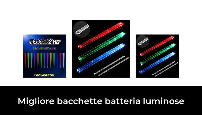 30 Migliore Bacchette Batteria Luminose nel 2020: dopo aver ricercato  opzioni