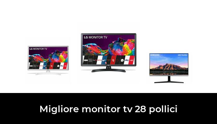 48 Migliore Monitor Tv 28 Pollici nel 2021: dopo aver ricercato 84 opzioni